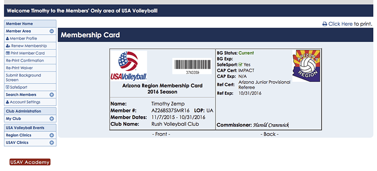 How to Register for USA Volleyball