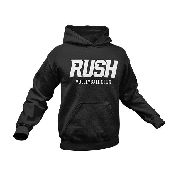 RUSH Product ImagesRUSH Hoody Black