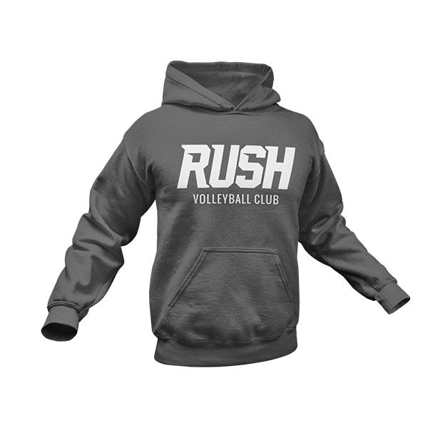 RUSH Product ImagesRUSH Hoody Heather Gray