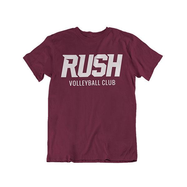 RUSH Product ImagesRUSH Maroon Shirt