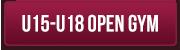 U15-U18 Open Gym